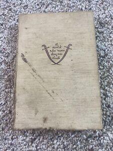 Seven Pillars Of Wisdom Vols I II T E Lawrence, World Books 1939 BL10