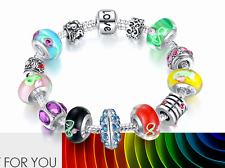 DIY Charm Multicoloured Beads Braclet/RGB067