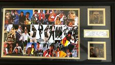 """The King of Pop"" Michael Jackson ""Cut"" Signature Display Todd Mueller COA"