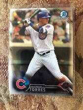 2016 Bowman Chrome Gleyber Torres BCP236 Yankees First Rookie Card RC Qty