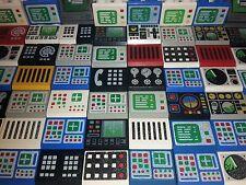 20 Lego® Computer Bildschirm Telefon vers. Größen / Farben City Basic (L255)