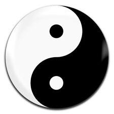 Yin Yang 25mm / 1 Inch D Pin Button Badge