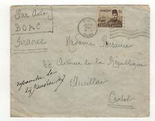 Egypte 1 timbre sur lettre 1947  tampon Cairo  /L396
