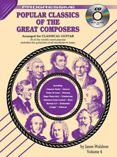 Progressive Popular Classics of the Great Composers Song Book 4 Classical Guitar