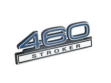 Ford Mustang 460 Stroker Big Block Emblem Blue w/ Chrome Trim