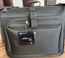 + NEW DELSEY Helium Breeze 2.0 Rolling Trolley GARMENT BAG SUITCASE Green
