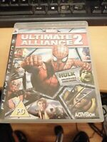 Marvel Ultimate Alliance 2 Sony PS3 Playstation 3 Game Complete INSTRUCTIONS PAL