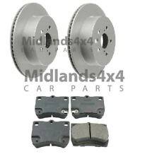 For LEXUS GS300 GS350 GS430 GS450H REAR BRAKE DISCS & PADS SET