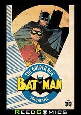 BATMAN THE GOLDEN AGE VOLUME 5 GRAPHIC NOVEL (376 Pages) New Paperback
