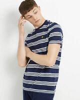 Lyle and Scott Men Multi Stripe T-Shirt - Cotton