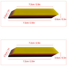 2PCS  30 Degree Soft PPF Rubber Squeegee Car Window Tint Protective Film Sticker