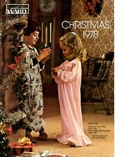 1978 Montgomery Ward Christmas Catalog HARD BOUND Star Wars Mego Godzilla Barbie