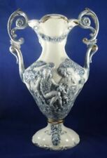 Vintage Original Vase Blue Pottery & Porcelain