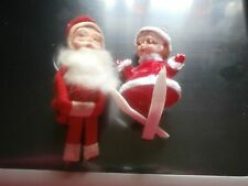 Vintage Old Knee Hugger Christmas Santa Claus Original Japan Blue Label