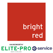 Hainsworth Pool Cloth - 9'x6' - Elite-Pro (Speed) - Bright Red USA Bed & Cushion