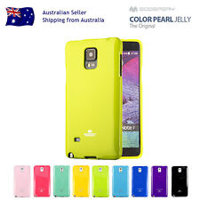 Mercury Goospery Jelly Gel Rubber Case Cover Samsung Galaxy Note 8/5/4/3 edge