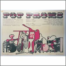T Rex / Fleetwood Mac 1970 Pop Proms Promotional Poster (UK)