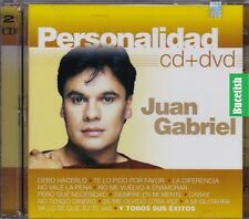 Juan Gabriel Personalidad CD+DVD New Nuevo sealed
