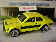 2017 Hot Wheels '70 FORD ESCORT RS 1600☆Yellow;lace☆Multi-Pack Exclusive?☆LOOSE