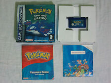 Pokémon Zafiro Nintendo Game Boy Advance, DS, DS lite PAL COMPLETO Español