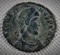 383-388 AD Scarce emperor Magnus Maximus AE2 Arles Mint  PCON Ancient coins A1s