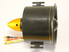 70mm 6 Blades Duct Fan Unit Brushless 2839 kv3000 Motor EDF For RC Jet Airplane
