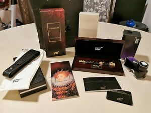 NEW MONTBLANC ELIZABETH I PATRON OF  ART  4810 FOUNTAIN PEN LIMITED EDITION GOLD