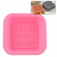 100% Hand Made Square Silicone Mold for Fondant, Gum Paste, Chocolate, Crafts