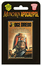 Munchkin Apocalypse Judge Dredd 15 Card Expansion Game Steve Jackson SJG4248