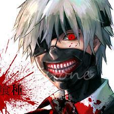 Cool Cosplay Tokyo Ghoul Kaneki Ken Adjustable Zipper Prop Mask Halloween Party