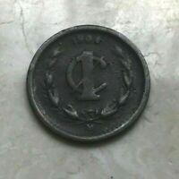 1904 M Mexico 1 One Centavo - Small Copper