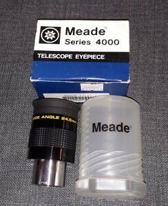 "Meade Series 4000 Super Wide Angle SWA 24.5mm Telescope Eyepiece 1.25"" OD👍"