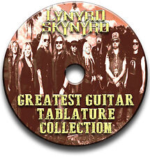 Lynyrd Skynyrd ROCK GUITAR Scheda tablature CANZONIERE CD del software