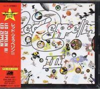Led Zeppelin / Led Zeppelin III JAPAN CD with OBI AMCY-4007