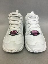 76009 Skechers Women's Work Energy Sector Lace Up Sneaker White