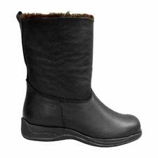 Martino Women's Summit Leather Winter Boot Black 10.5 M New Fast Shipping!