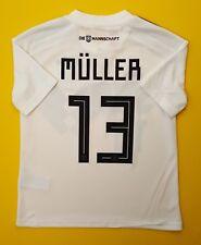 5+/5 Muller Germany kids jersey 2018 home shirt 9-10 years BQ8460 soccer Adidas