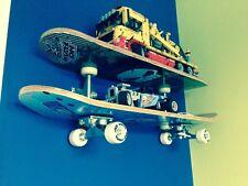 Kids Bedroom Boys Room skateboard shelf / Shelves Unique Item Hand Made