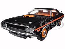 1970 DODGE CHALLENGER R/T 426 HEMI BLACK 50TH  ANNIVERSARY 1/24 CAR M2 40300-46A
