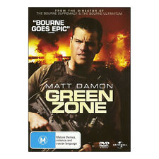 Green Zone DVD Brand New Region 4 Aust. Free Post - Matt Damon