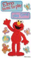 Sesame Street PLAYTIME ELMO  Jolee's Le Grande Scrapbook Dimensional Sticker