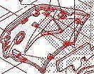 64330KTYD30ZA COWL SET, R. MIDDLE CBR125 2007