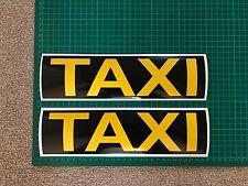 Taxi Magnet Car Sign Door Bonnet Boot 300mm x 2