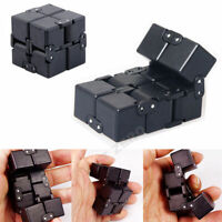 Luxury EDC Infinity Cube Mini For Stress Relief Fidget Anti Anxiety Focus Toy US