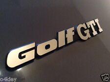 GOLF MK2 REAR PANEL BADGE/EMBLEM MIRROR CHROME FINISH EXCELLENT HIGH QUALITY