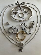 Vtg Mixed Jewelry Sterling Silver Lot