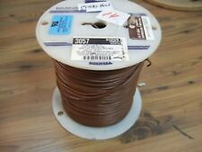 Alpha Wire 3057 BR005 Brown Hook-Up Wire 1000ft Spool