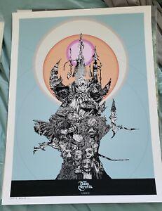 Dark Crystal Art Print Chris Brake limited to 20 mondo hero complex gallery