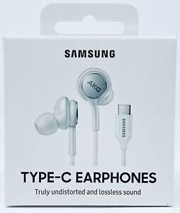 Für Samsung Galaxy Note 10 Lite AKG USB-C In Ear Kopfhörer Stereo Ohrhörer Weiß