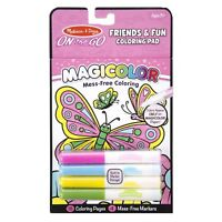 Melissa And Doug On The Go Magicolor Friends And Fun Coloring Pad NEW Toys